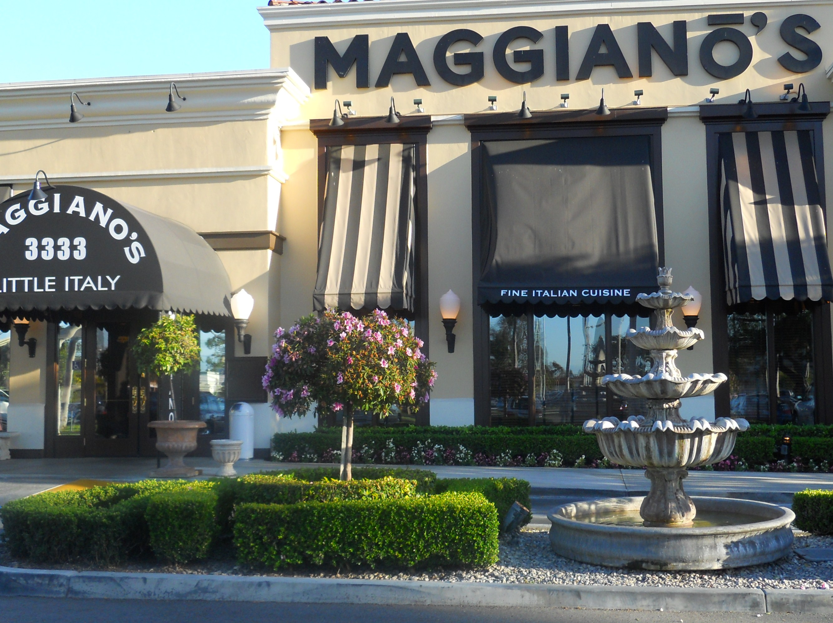 Complete Maggiano's Little Italy Store Locator. List of all Maggiano's Little Italy locations. Find hours of operation, street address, driving map, and contact information.